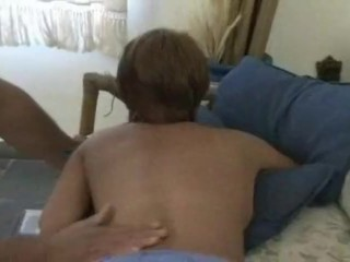 Preview 2 of Her massage turns into some hardcore anal fucking