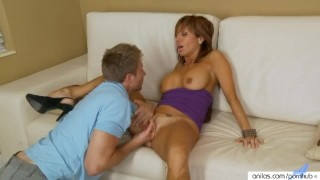 Preview 3 of Mature mom Tara Holiday fuck and facial