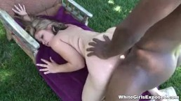 This Is An Extreme Interracial Pussy Pounding Action