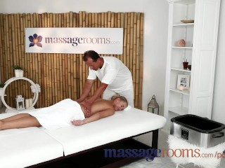 Preview 2 Of Massage Rooms Young College Girl Beauty Has Orgasm In Hardcore Scene