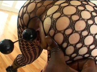 Preview 6 of Lex fucks a girl in fishnet and boots