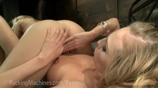 Preview 1 of Epic Cumming From Sex Machines