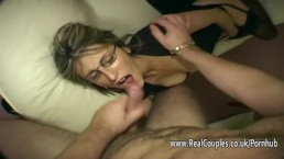 Husband gives his wife hard anal sex