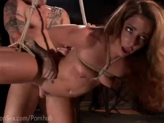 Preview 4 of Savannah Fox Squirting Bondage Sex