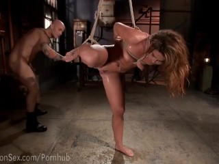 Preview 5 of Savannah Fox Squirting Bondage Sex