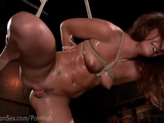 Preview 6 of Savannah Fox Squirting Bondage Sex