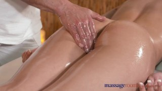 Preview 5 of Massage Rooms Stunning young athletic model cums multiple times