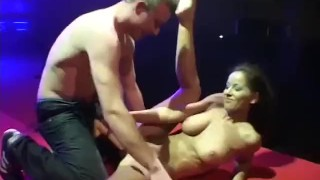 Preview 6 of real hard fucking on public stage
