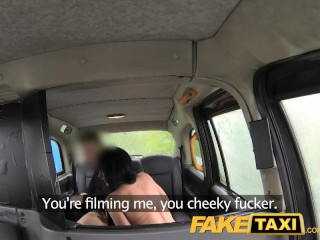 Preview 6 of FakeTaxi Local escort fucks taxi man on her way to a client