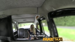 FakeTaxi New driver gives local hot blonde good anal sex