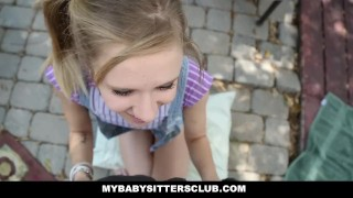 Preview 5 of MyBabySittersClub - Petite Baby Sitter Caught Masturbating