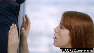 Preview 3 of BLACKED Redhead Gwen Stark enjoys her first Black Cock!