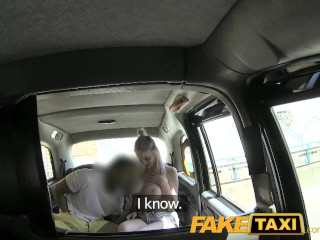 Preview 6 of FakeTaxi Cabby tries his beginners luck on hot blonde with big tits