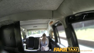 Preview 2 of FakeTaxi Cabby tries his beginners luck on hot blonde with big tits