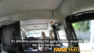 Preview 4 of FakeTaxi Cabby tries his beginners luck on hot blonde with big tits