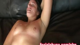 Chubby Whore Delilah Gets Jizzed And Fucked Hard Again