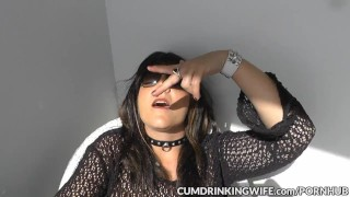 Preview 2 of Slutwife Marion creampied by plenty of guys