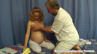 Preview 2 of Pregnant Stepdaughter Gets Fucked By Her Lewd Stepfather
