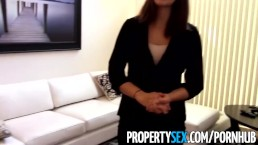 PropertySex - Motivated real estate agent uses her pussy to land client