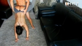 Preview 2 of NEW Doggy Style position - Diana cu de Melancia