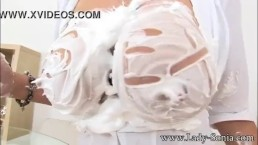lady Sonia Wet and Messy MILF