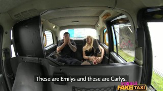 Preview 3 of FemaleFakeTaxi Dirty Driver Swallows Copper's Cock