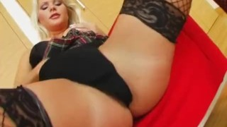 Preview 3 of Ass Traffic Two cocks pound Kathy's ass and pussy and she eats cum