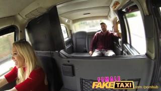 Preview 1 of FemaleFakeTaxi Welsh lad gets a sweet surprise