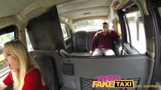 Preview 2 of FemaleFakeTaxi Welsh lad gets a sweet surprise