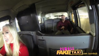Preview 4 of FemaleFakeTaxi Welsh lad gets a sweet surprise