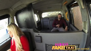 Preview 5 of FemaleFakeTaxi Welsh lad gets a sweet surprise