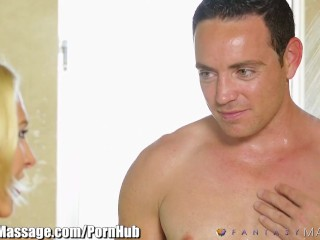 Preview 1 of Described Video - Step-Sister and Brother are Almost Caught by Dad