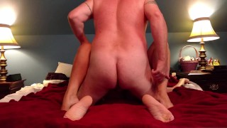 Preview 5 of Slut fucks her man and takes facial like the whore she is...