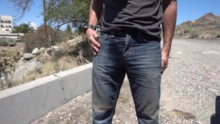 Preview 1 of Pissing jeans at a mine