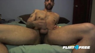 Preview 5 of Tatted and Toned Samir Hott Puts His Big Cock to Work