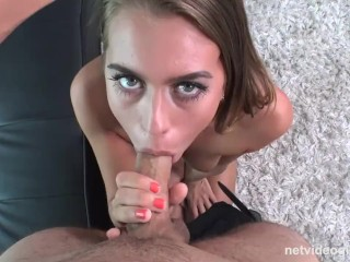 Preview 2 of Jill Returns To NetVideoGIrls For A Creampie, Fool You Twice Shame On...