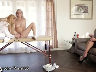 Preview 2 of StepMom and Doctor Examine Her Pussy