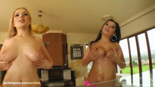 Preview 3 of PrimeCups presents Georgiana - big tits PrimeCups scene