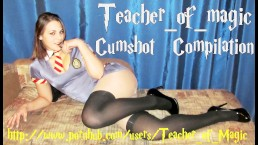 Teacher Of Magic cumshot compilation. Best Cum in mouth and facial
