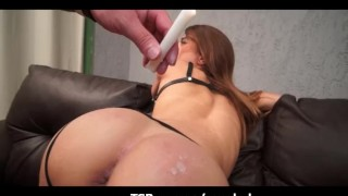 Preview 1 of Candle Wax Domination Creampie