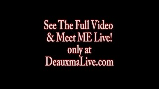 Preview 1 of Deauxma & Tanya Tate Shower During Live Show!