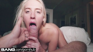 Preview 2 of BANG Gonzo: Cadence Lux Blowjob Squirting Gonzo Queen