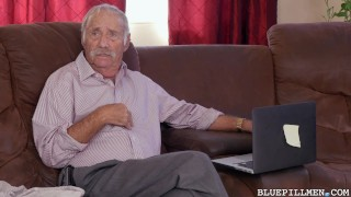 Preview 1 of Grandpa Gets Young Presley Carter a Backstage Pass on Blue Pill Men
