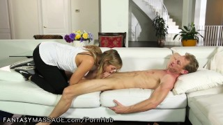 Preview 3 of FantasyMassage He Makes Cheating Wife Watch