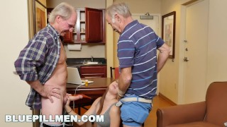 Preview 2 of BLUEPILLMEN - Introducing Old Man Duke to Teen Naomi Alice (bpm14870)