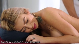 Preview 1 of FantasyMassage She Can't Stop Squirting