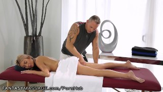 Preview 3 of FantasyMassage She Can't Stop Squirting