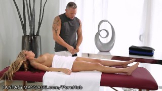 Preview 4 of FantasyMassage She Can't Stop Squirting