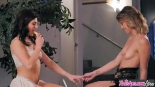 Preview 4 of When Girls play -You Taste So Good, Leah Gotti andStefanie Joy
