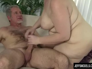 Preview 5 of Fat ass Cherie A Lunas spreads her cheeks while being fucked